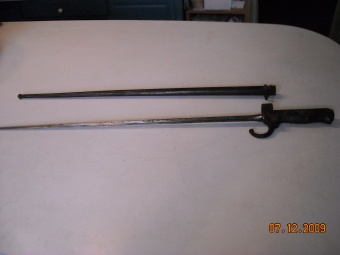 Civil War Bayonet and it's Sheath
